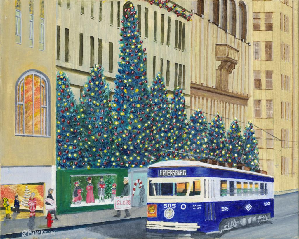 Scranton Christmas Trolley