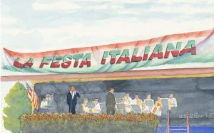 La Festa Italiana, Cantante