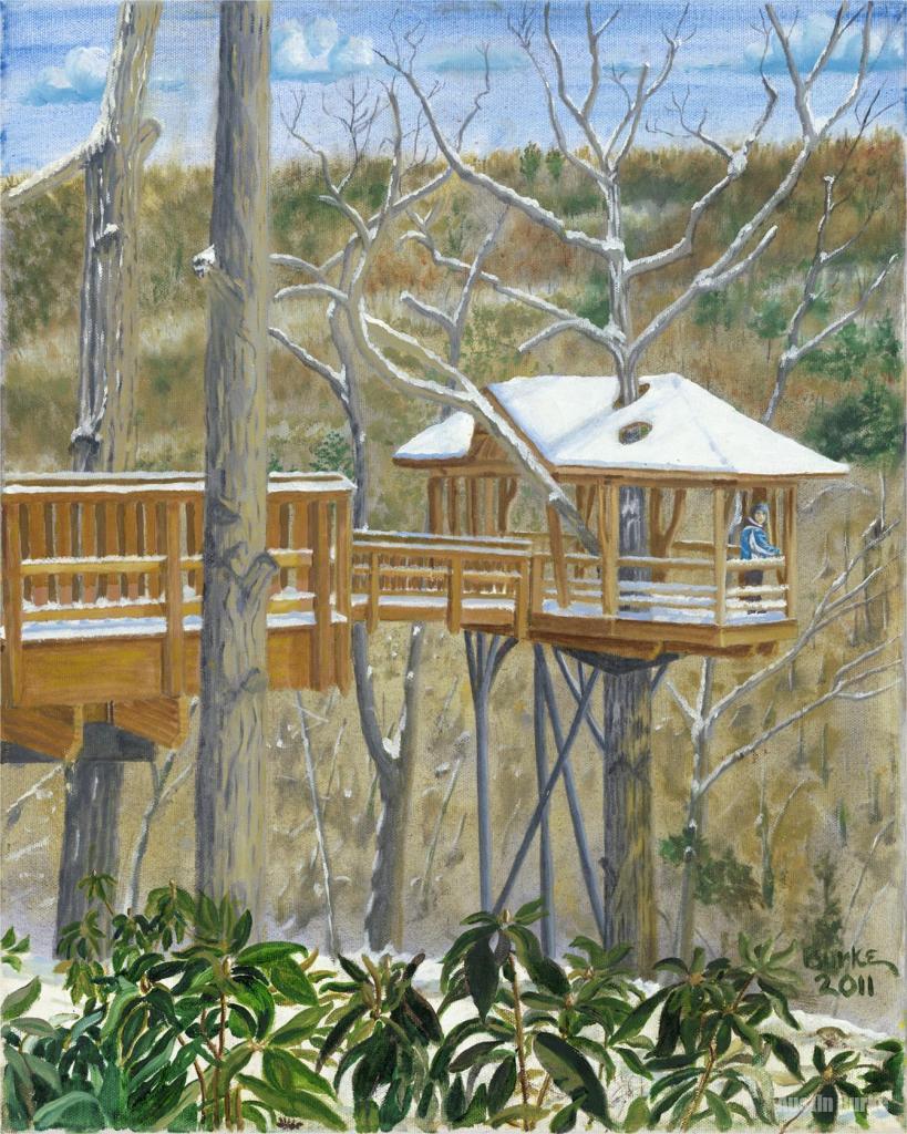 David Wenzel Tree House, Nay Aug Park