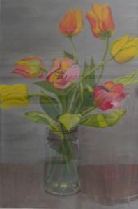 Still Life, Tulips
