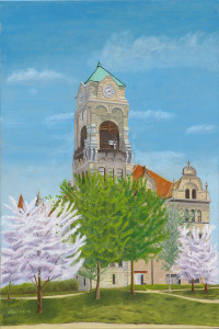 Lackawanna County Courthouse, Spring