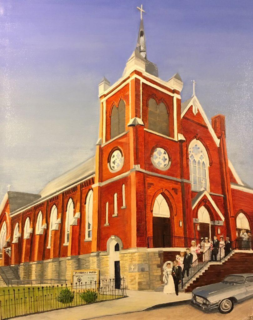 St. Patrick's Church, Modern Steeple
