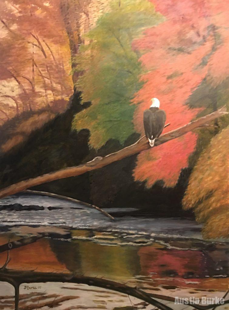 Eagle on the Lackawanna